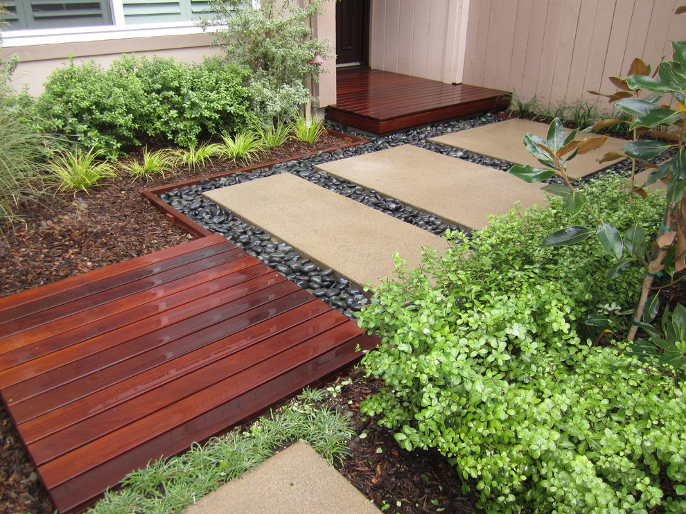 Residential landscaping dp environments for Concrete garden designs